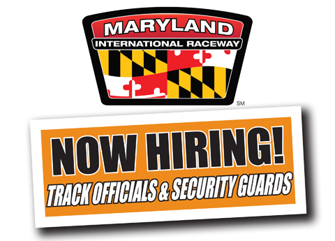 Maryland International Raceway Hiring