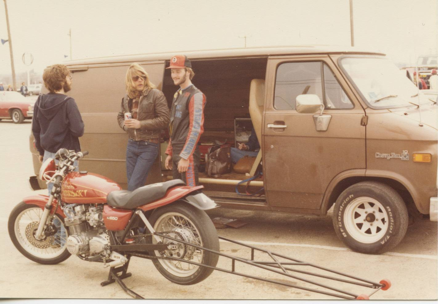 Joe Koenig Brown Dragbike Van