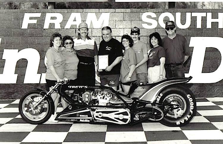 Elmer Trett and crew