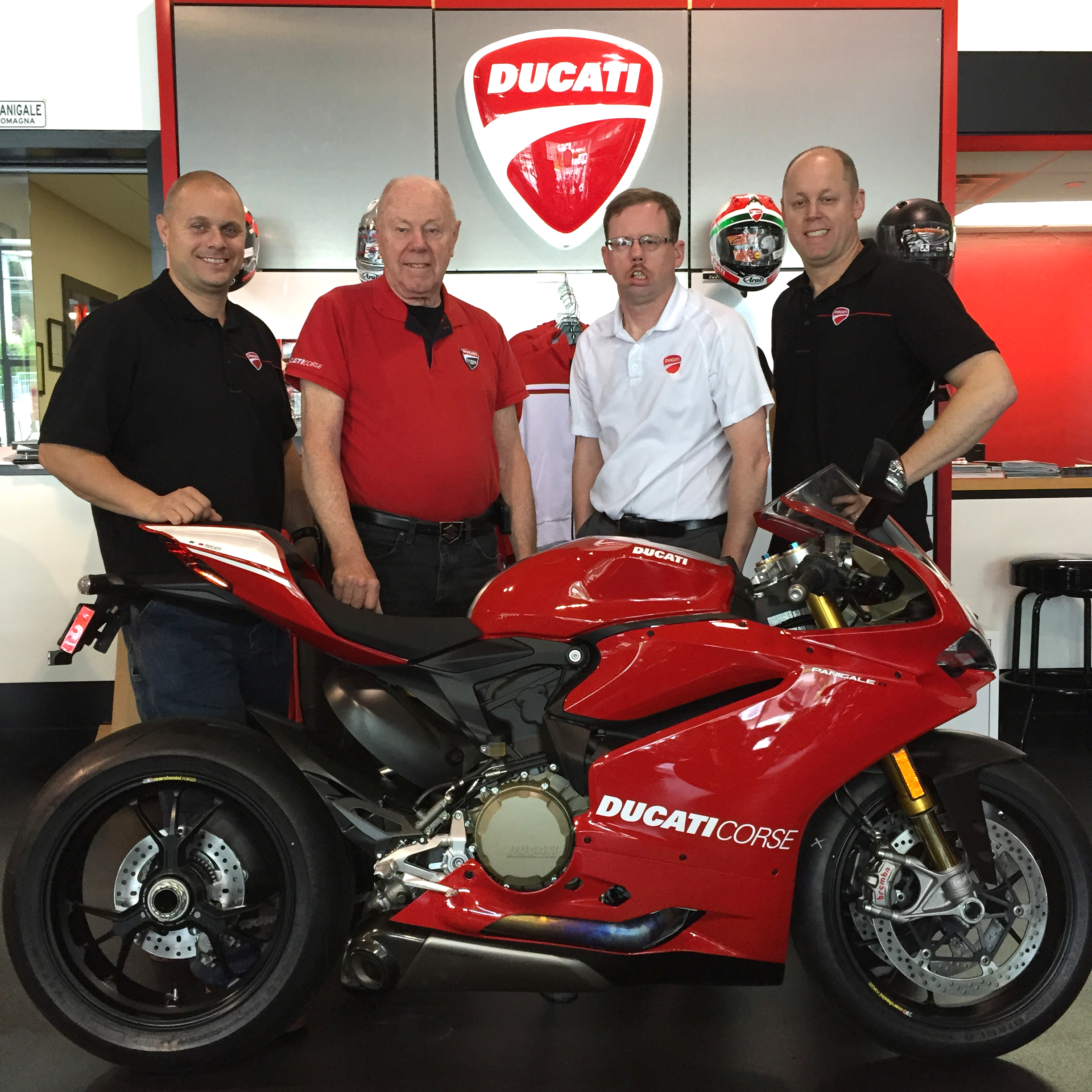 New Metro North President To Recertify As Locomotive: Hudson Valley Motorcycles Seizes May 2015 Ducati Sales