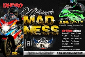 Nhdro dragbike racing gets on the good foot at gateway for Cabine del gateway bryce