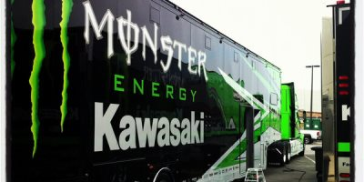 Kawasaki Racing Trailer