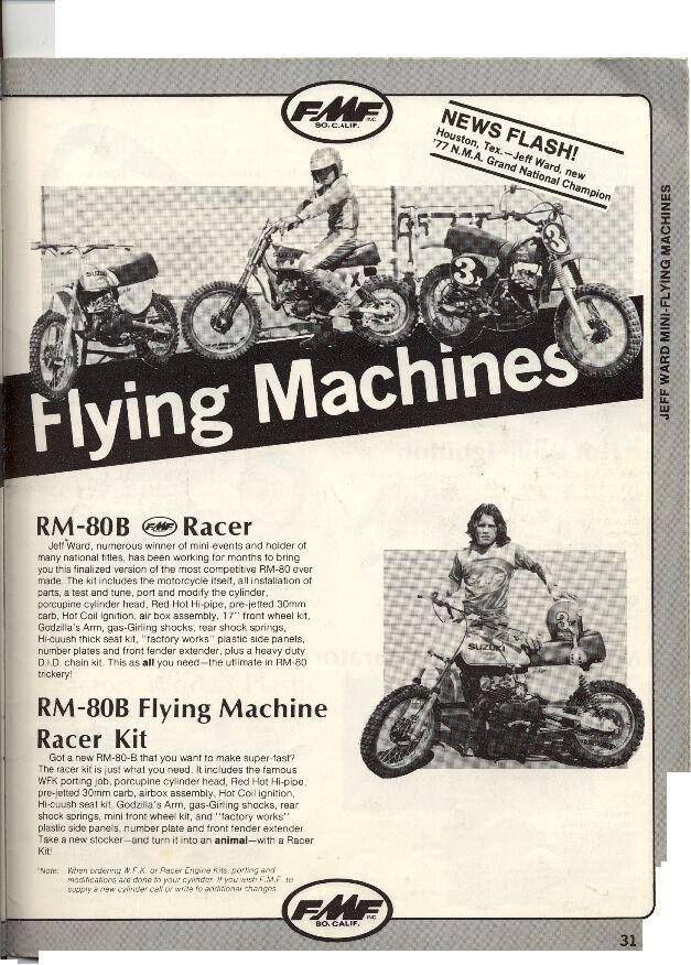 FMF 1977 Flying Machines Ad