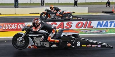 Harley Davidson NHRA Drag Racing