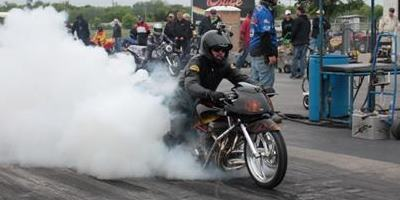 Jacob Green Dragbike Burnout