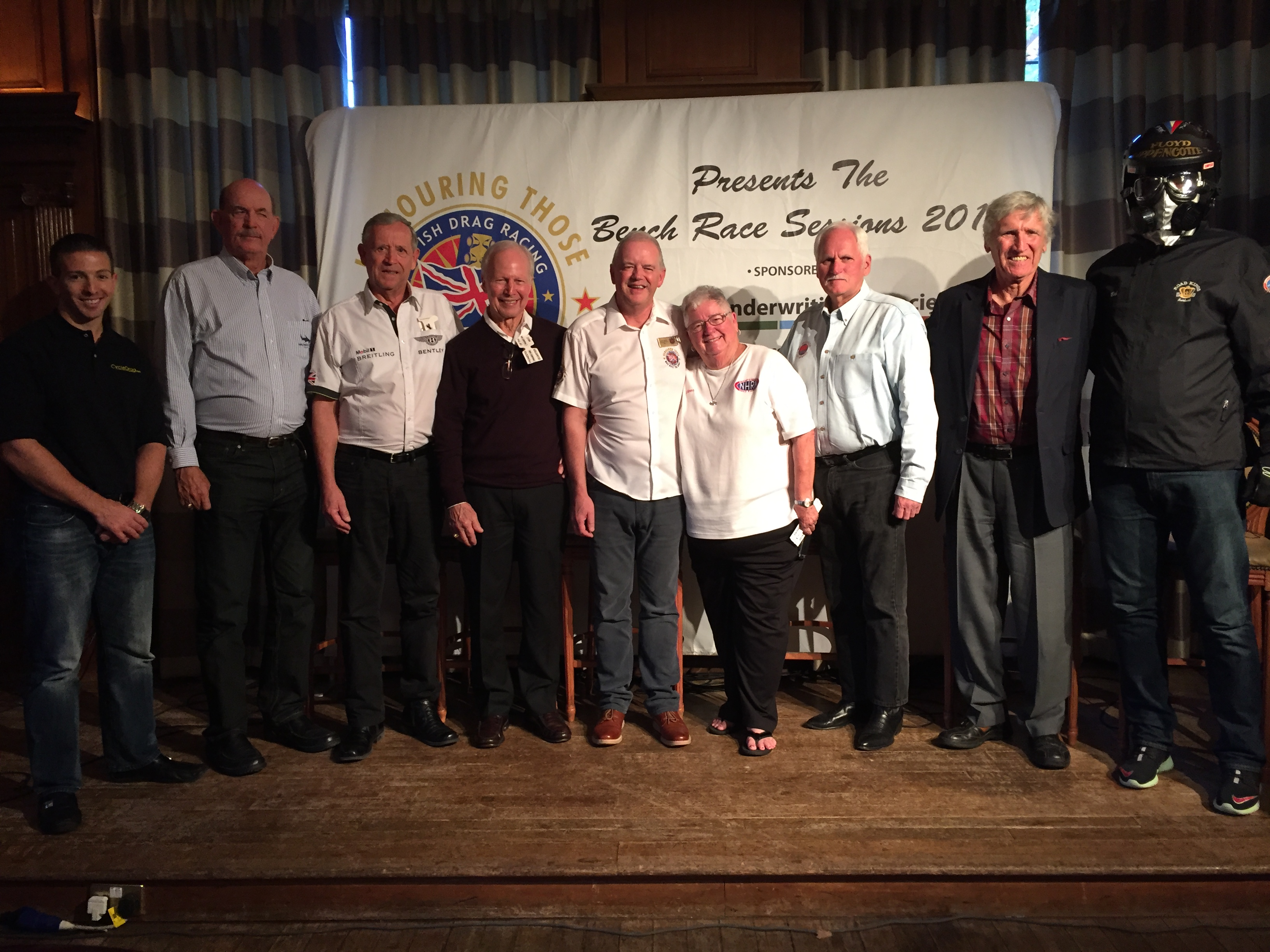 Larry Mcbride And Others Honored At British Drag Racing Hall Of Fame