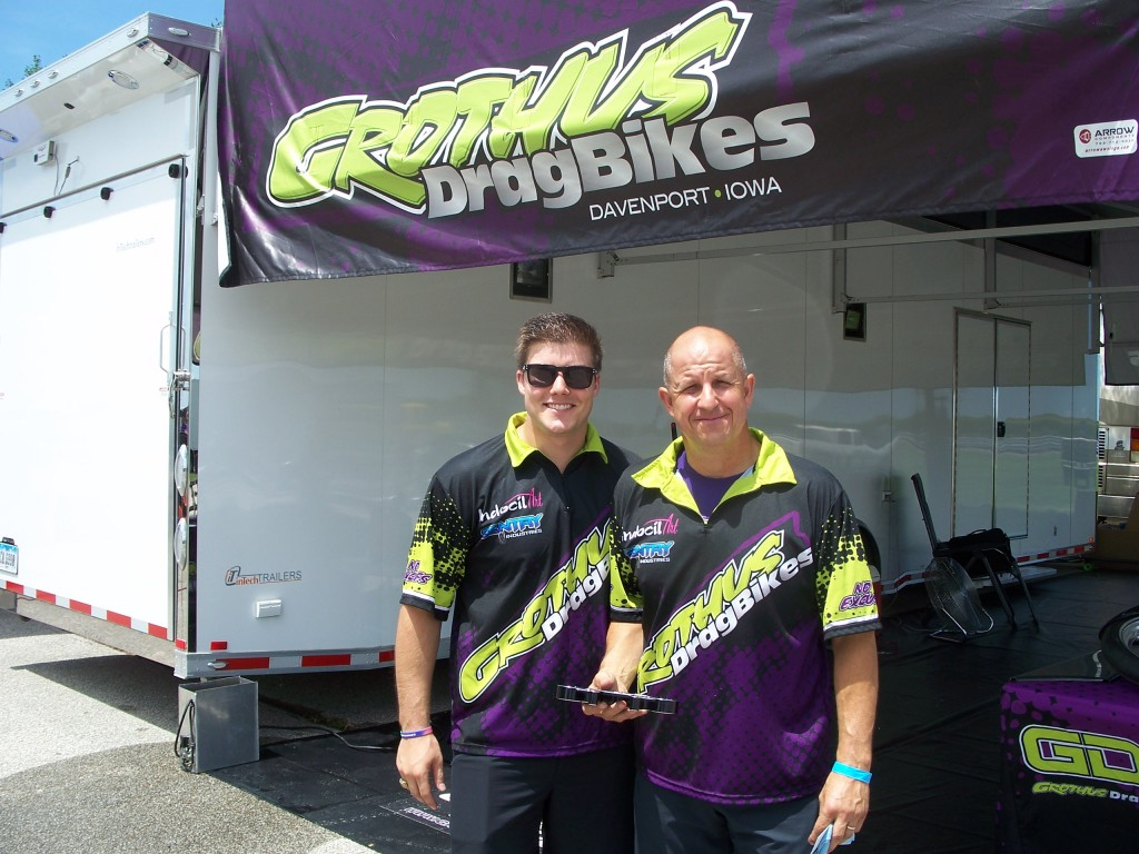 Bradley and Ed Grothus