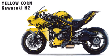 Yellow Corn Kawasaki H2