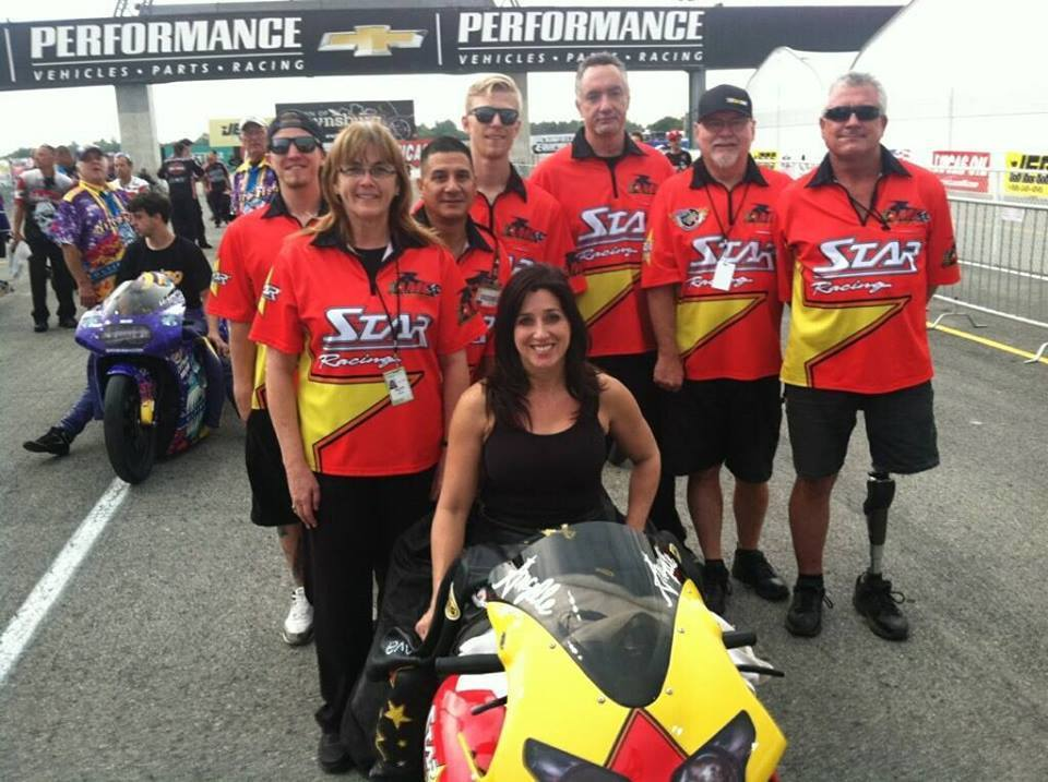 Star Racing, Jackie Bryce, George Bryce, Angelle Sampey, Jerry Cooper, Ken Johnson