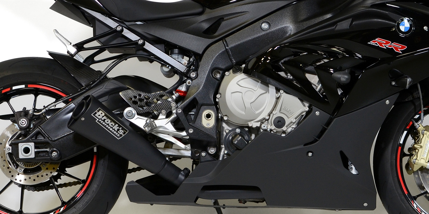 Brock S Alien Head 2 Full Exhaust System Is Now Available For 2015 16 Bmw S1000rr Drag Bike News