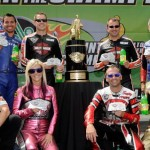 Pro Stock Motorcycle Racers