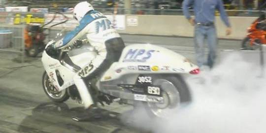 Dan Rudd, MPS Hayabusa burnout