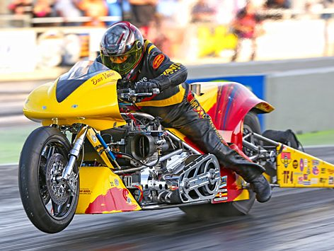 Dave Vantine - Top Fuel Motorcycle