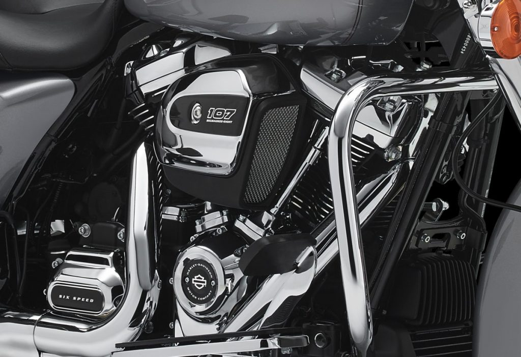 The Milwaukee-Eight Harley-Davidson Engine