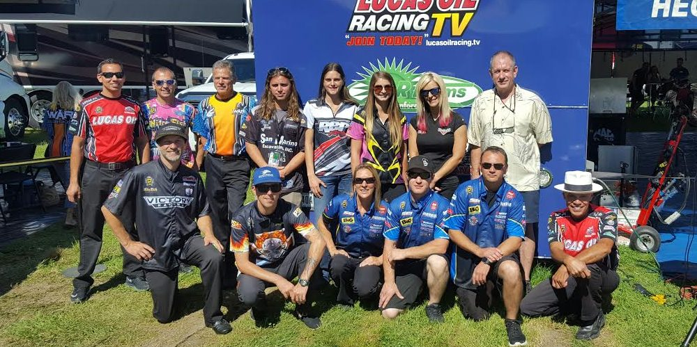 NHRA Pro Stock Motorcycle Racers
