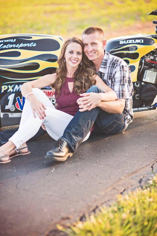 Eric McKinney and his fiance Ashley