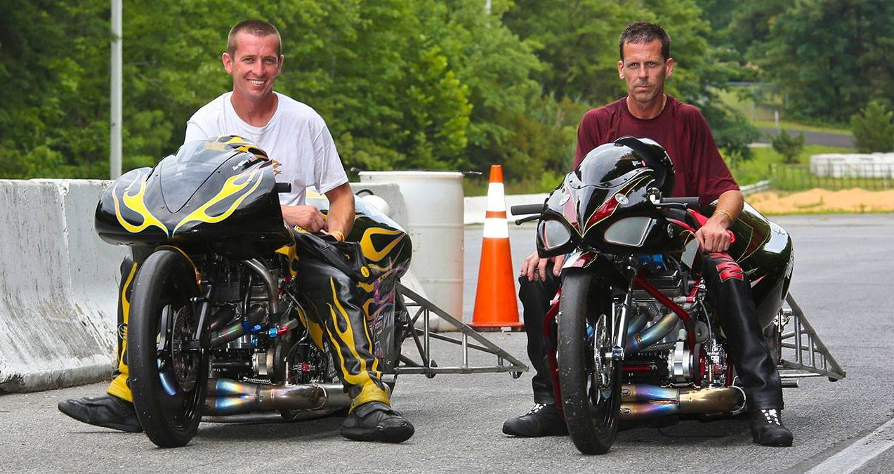 Eric McKinney and teammate Ashley Owens