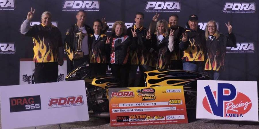 Eric McKinney PDRA Champion