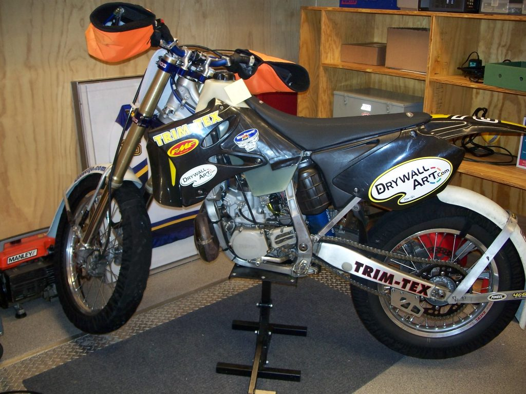 Joe Koenig YZ 250, 285 ice racer