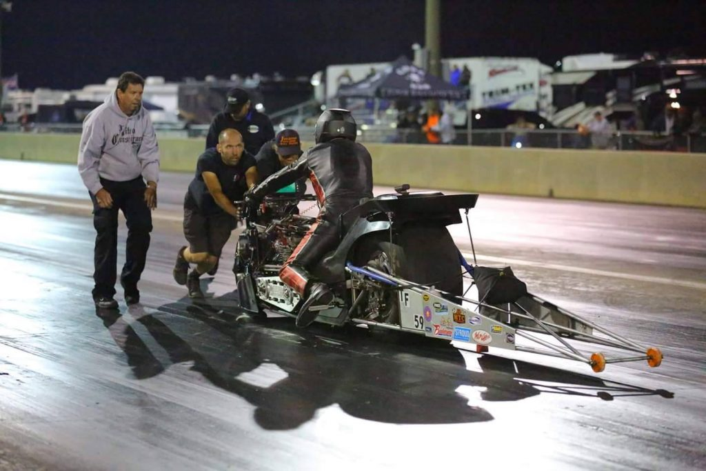 Mitch Brown Top Fuel Motorcycle