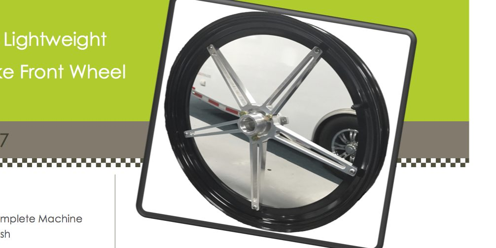Grothus Dragbikes Legacy front Wheel