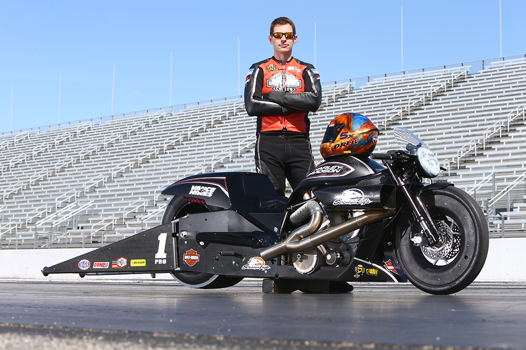 Harley Davidson Stock: Screamin Eagle Harley Davidson Pro Stock Motorcycle Team