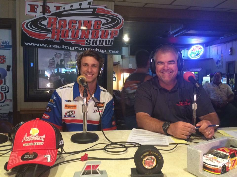 Josh Bilicki representing Trim-Tex on the radio