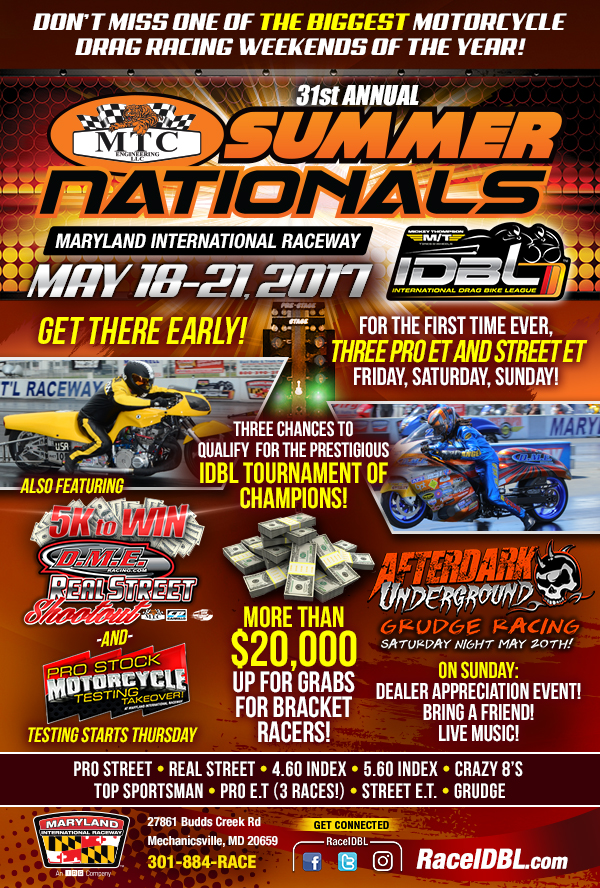 IDBL MTC Summer Nationals 2017