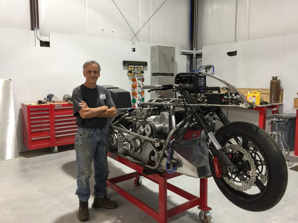 Terry Kizer Top Fuel Motorcycle