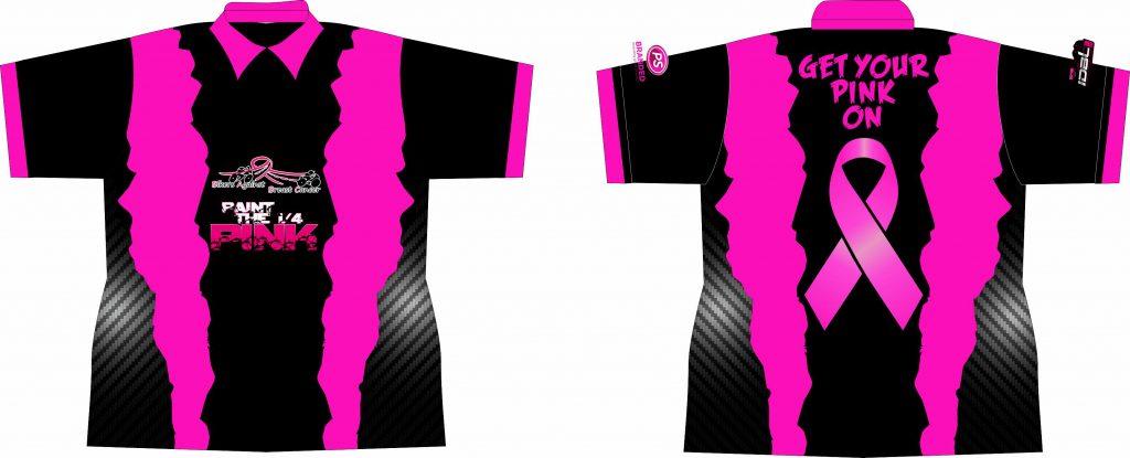 2017 Paint the Quarter Pink Shirts