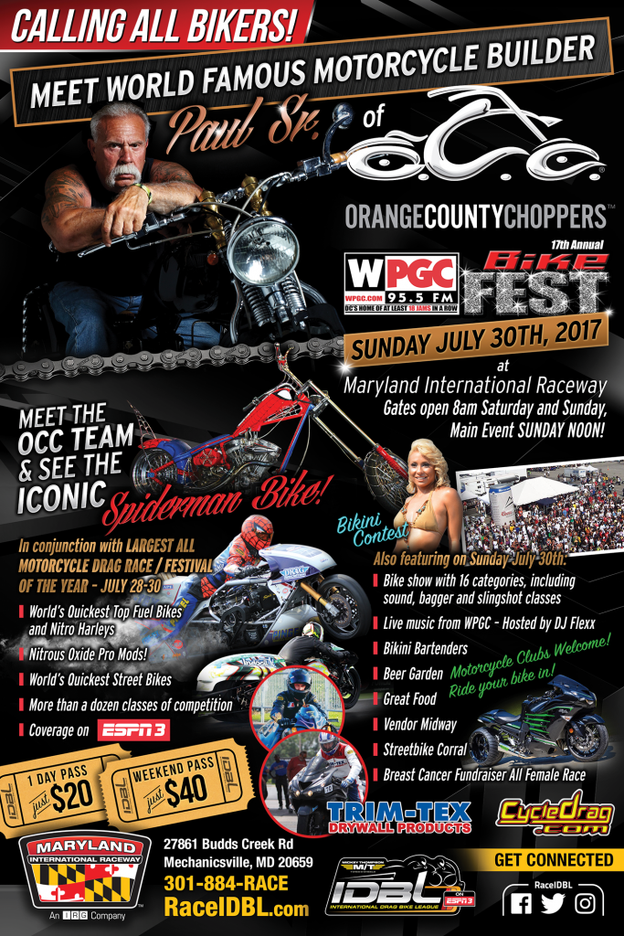 Orange County Choppers at IDBL Bike Fest