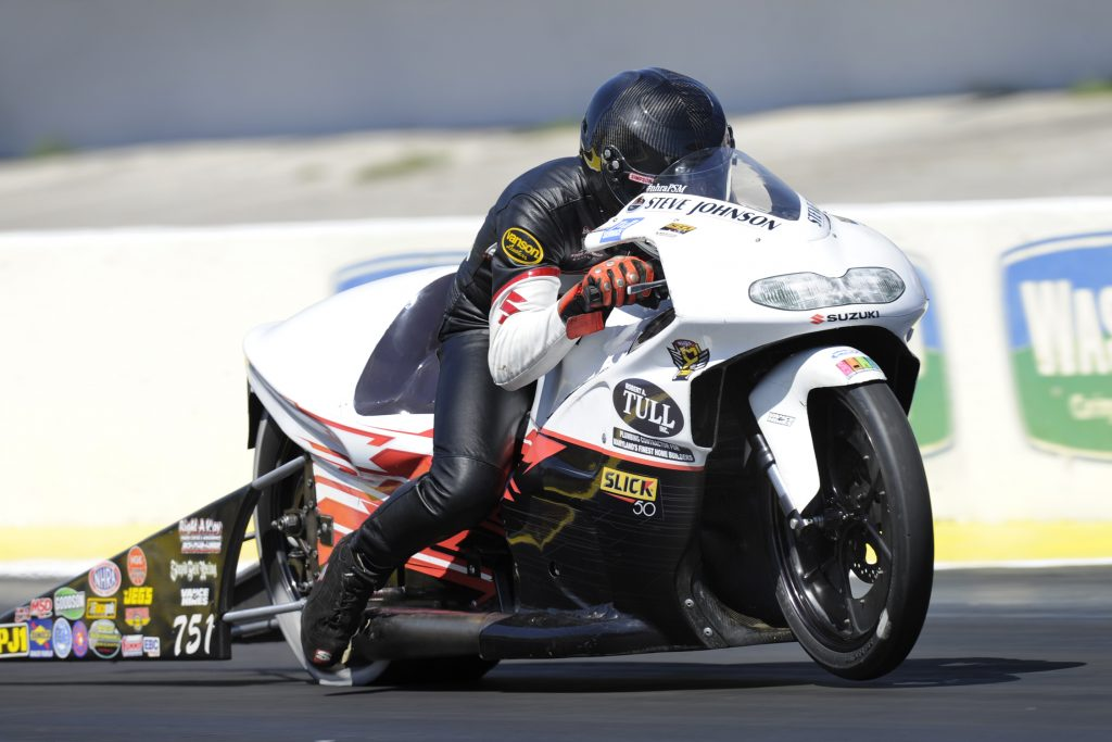 Steve Johnson Pro Stock Motorcycle
