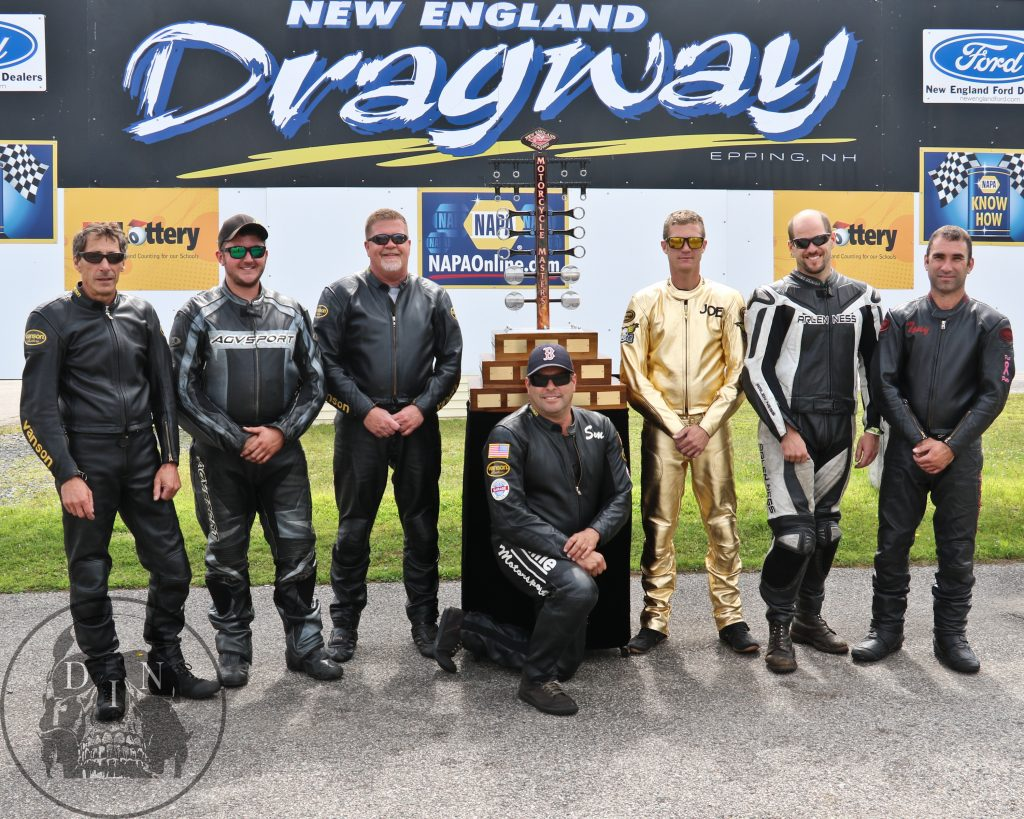 2016 Masters Racers: L-R John Civitarese, Tyler Wilkerson, Ed Hughes, Sam Hurwitz, Joe Ferraro, Carl Cicchetto, Tony Ficher. Tom McCarthy photo.