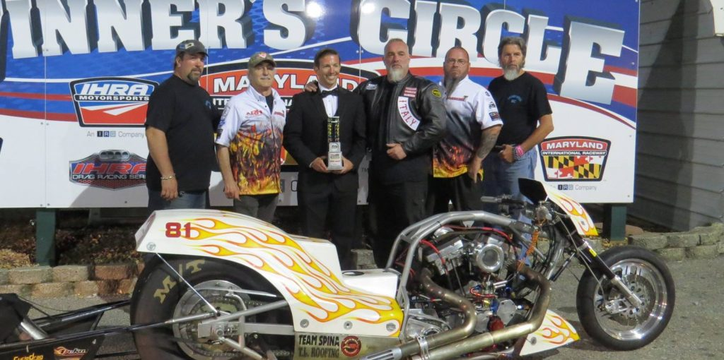 Peter Geiss, Bob Spina IDBL Winners Circle