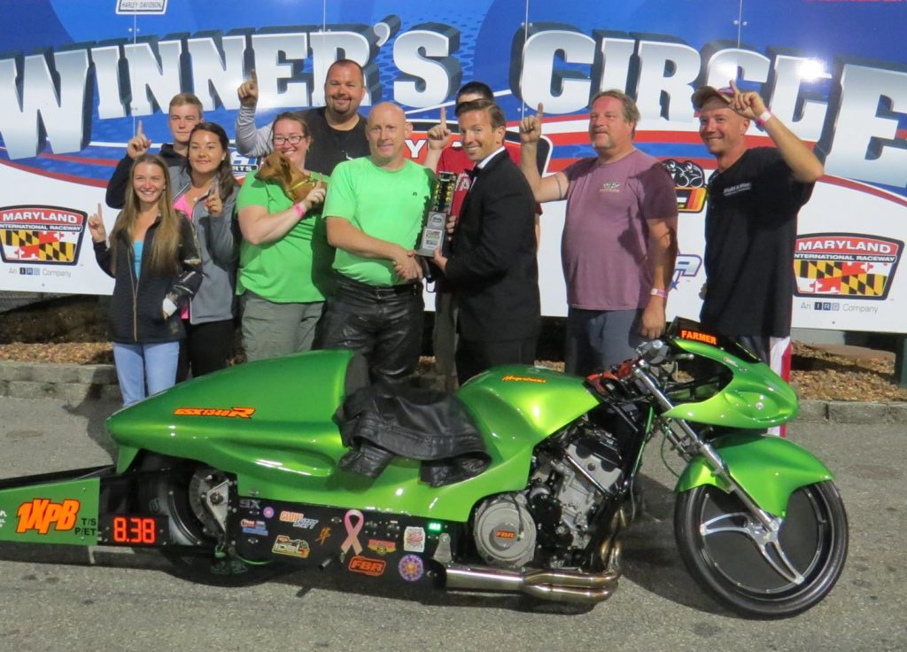 James Farmer, IDBL win