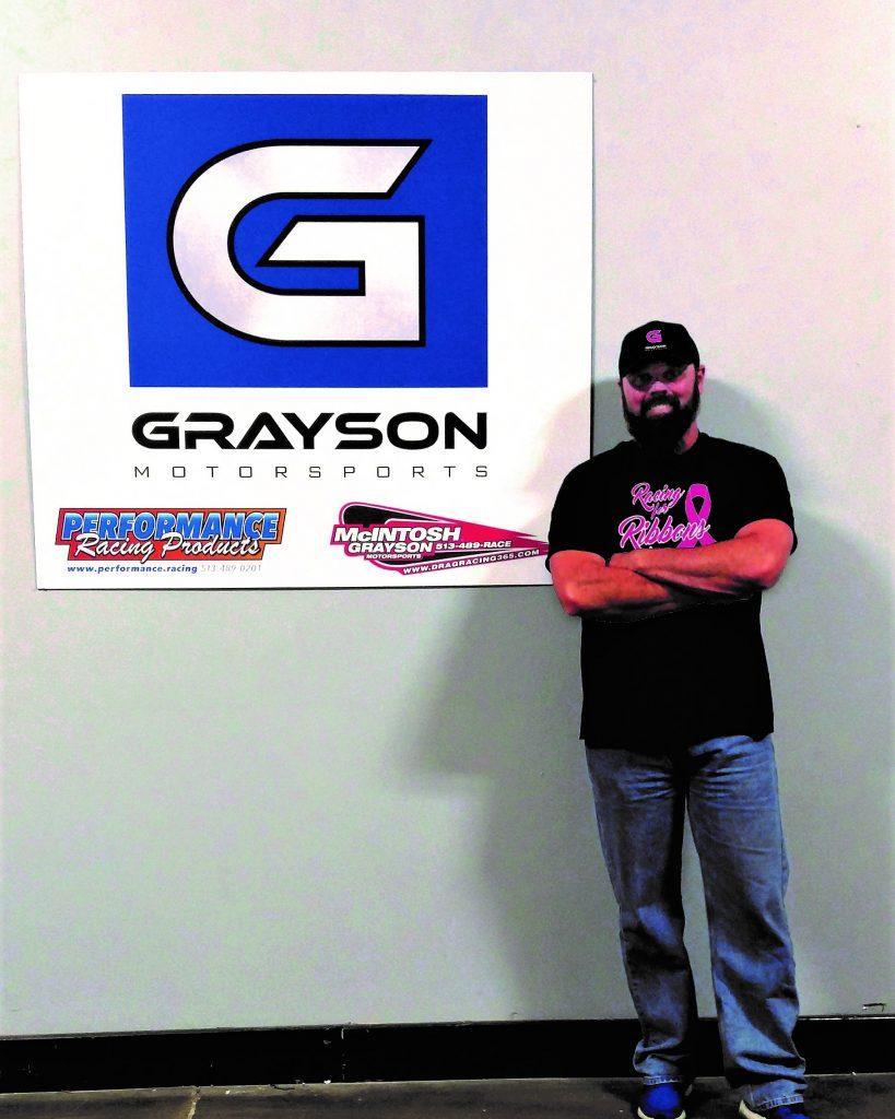 Glenn Grayson, racing for Ribbons