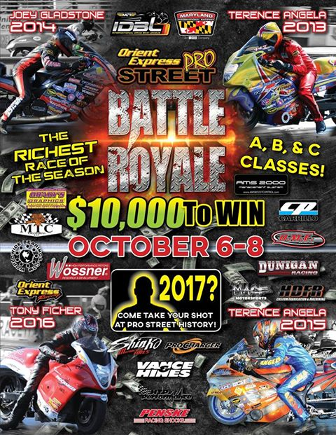 IDBL Battle Royale Past Winners