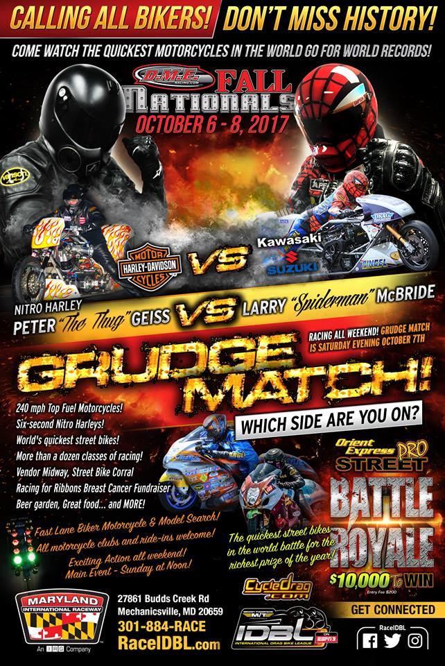 Peter Geiss vs. Larry McBride, Oct. 7th
