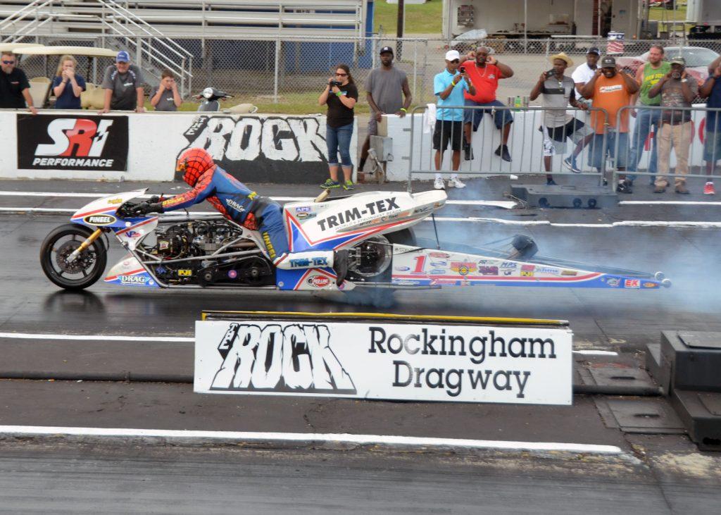 Larry McBride 255 mph