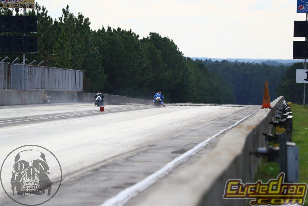 Dragbike racing
