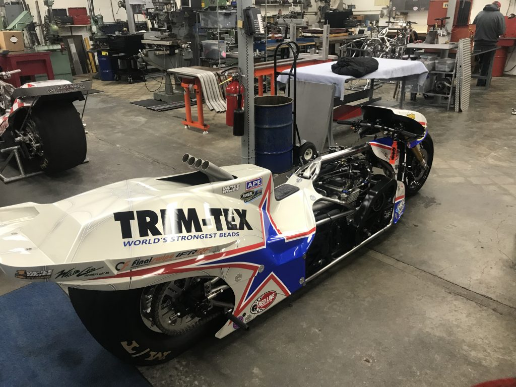 Larry McBride Top Fuel Bike