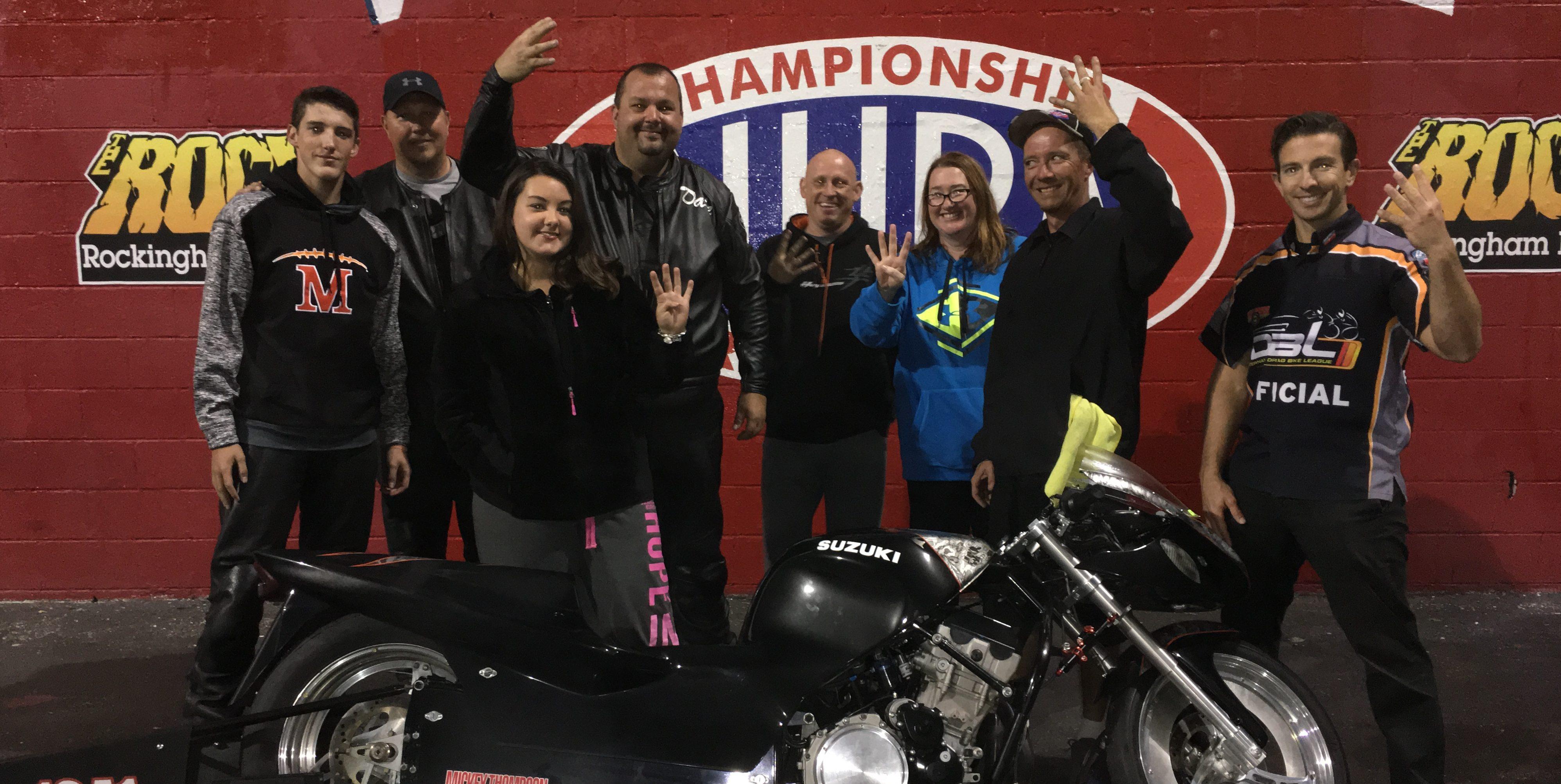 Dale Hamilton wins IDBL Finals
