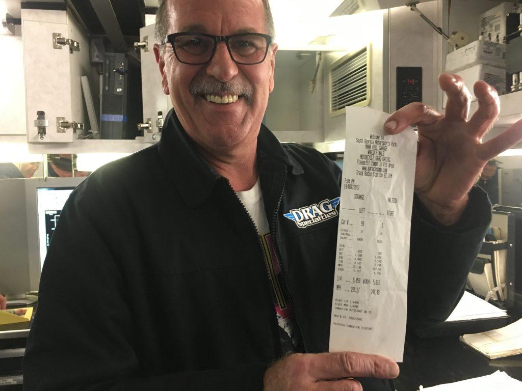 Larry McBride Time Ticket