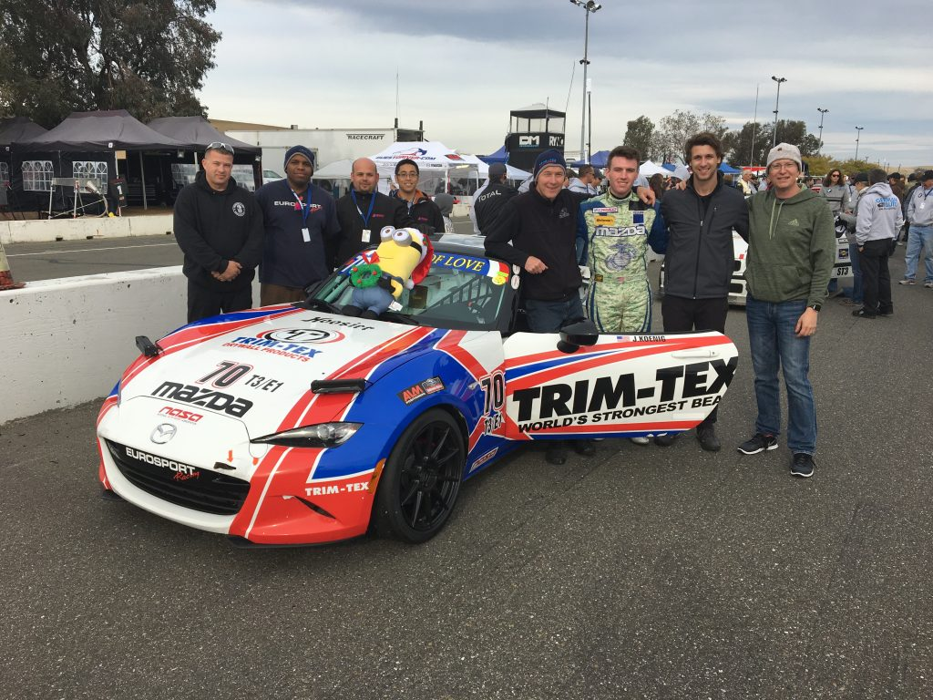 Team Trim-Tex Wins Thunderhill
