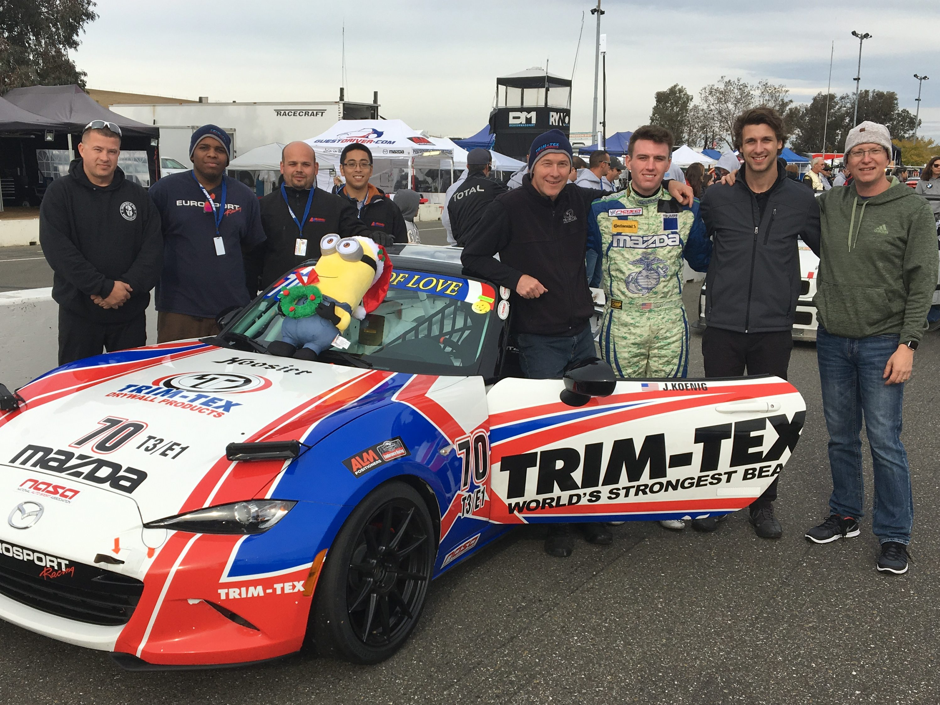 Team Trim-Tex Wins Thunderhill