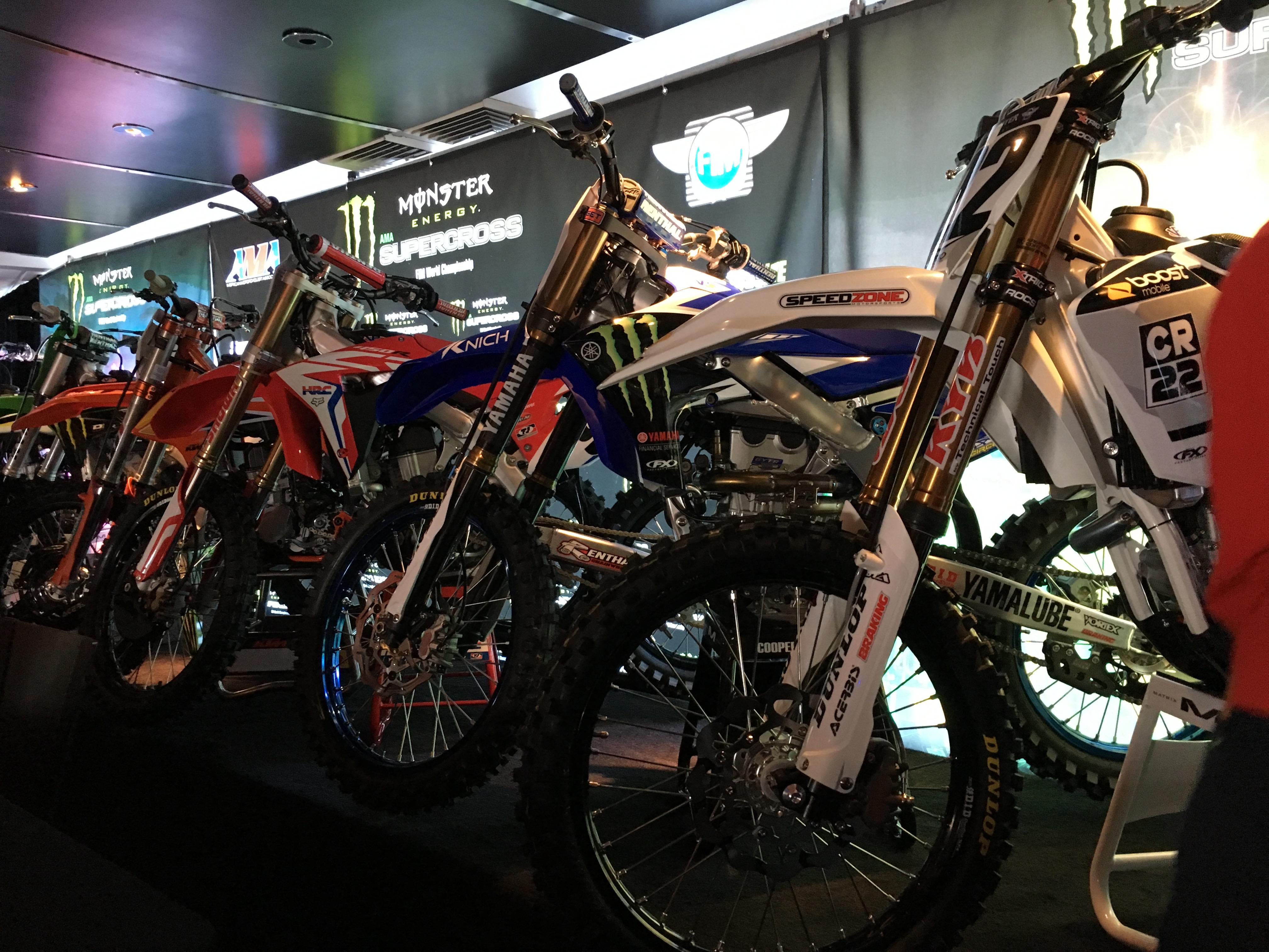 Supercross 2018 Bikes