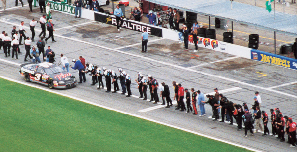 Dale Earnhardt Wins Daytona 1998