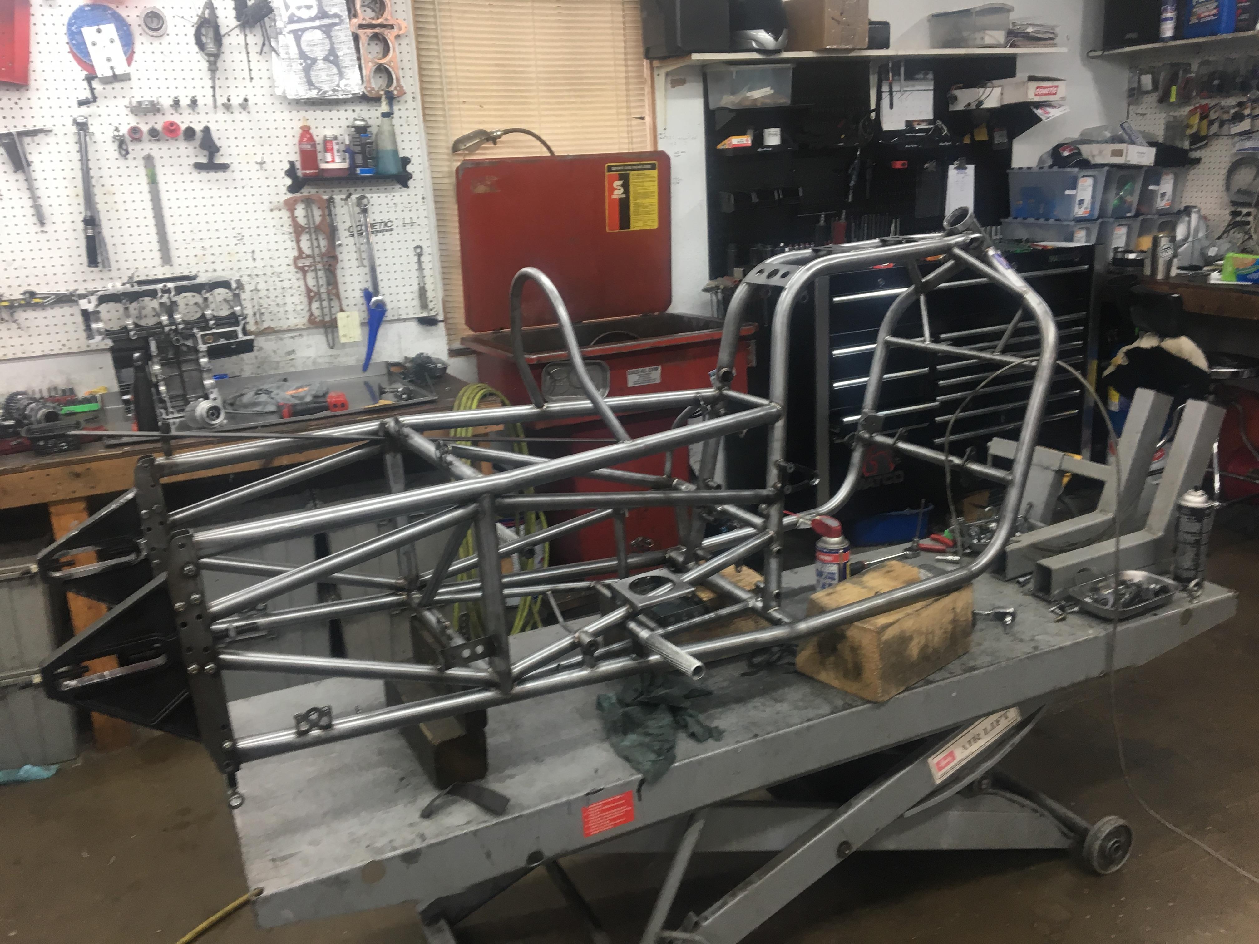 Eric McKinney Pro Mod Bike Rebuild