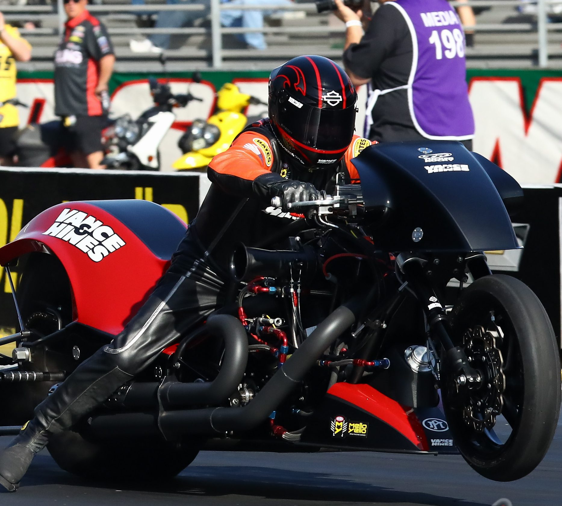 Turbo Harley Drag Race: NHRA Lucas Oil Winternationals Nitro Harley Coverage And
