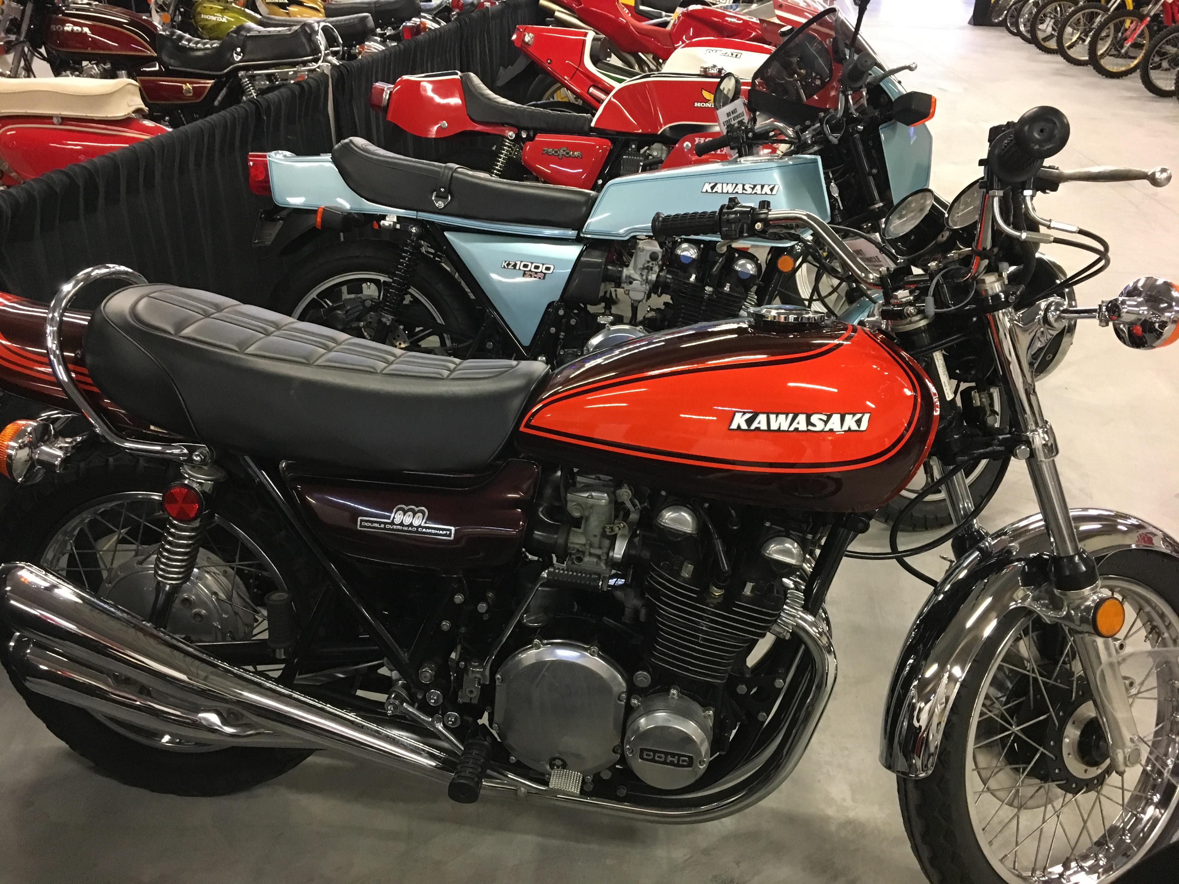 1973 z1 900, 1978 Z1R 1000
